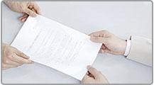 設立許可書の交付
